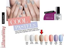 2 X AVON GEL SHINE NAIL ENAMEL, BARELY THERE~LIMITED TIME OFFER RRP £7 EACH~SALE