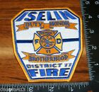 Iselin Fire District 11 Duty, Honor, Brotherhood Cloth Patch Only