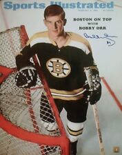 BOBBY ORR AUTOGRAPHED BRUINS SPORTS ILLUSTRATED 16X20 PHOTO GNR COA