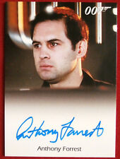 JAMES BOND - The Spy Who Loved Me - ANTHONY FORREST - Autograph Card