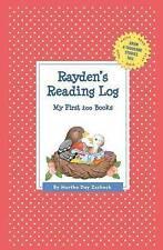 Rayden's Reading Log: My First 200 Books (Gatst) by Martha Day Zschock...