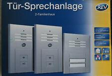 REV Tür- Sprechanlage für 2- Familienhaus