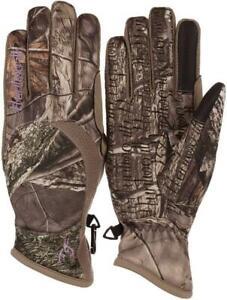 Huntworth Stealth Ladies Hunting Gloves Hidden Camouflage Mid Weight Size Medium