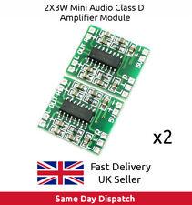 2x PAM8403 Module Super mini digital amplifier board 2x3W Class D 2.5- 5V - UK