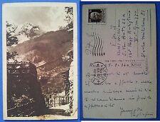 Abruzzo L' Aquila WWII - Scorcio - Posta Militare, viaggiata 1940