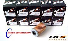 HUSABERG FE/FC 390 450 570 09-13 Rfx Filtros De Aceite >> 10 Pack << 50300