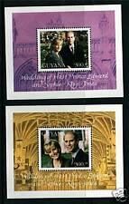 Guyana 1999 Royal Wedding MS5577 MNH