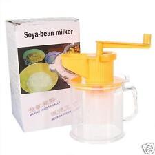 Machine production lait de Soja Bio Unique NEUF ! Extracteur de Jus Manuel