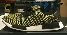 Adidas NMD R1 STLT PK Black Yellow Size 13 Deadstock 100% Authentic