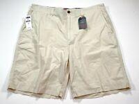 Chaps Ralph Lauren 38 Stone Shorts Garment Dyed Cotton NEW NWT