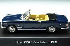 FIAT 2300S CABRIOLET 1962 DARK BLUE STARLINE 560528 1/43 2300 S SPIDER BLEU