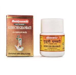 Baidyanath Herbal Guduchi Ghanvati 60 tablets Enhance Vitality, Improve Immunity