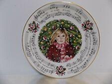 """Silent Night"" 1983 Royal Doulton Christmas Carols Plate Silent Night"