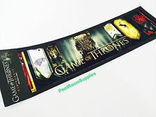Game of Thrones Bar Runner Mat PUB Man Cave Birthday Fathers Day Birthday GIFT