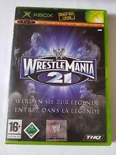 ➡️TOP! Wrestlemania 21 +  OVP Spiel Xbox Wrestling Classic Game Fight⬅️