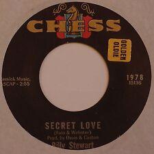 BILLY STEWART: Secret Love RARE NORTHERN SOUL latin XO 45 on CHESS hear it!