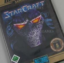 StarCraft 1 I & Addon Broodwar PC alemán ningún dowload por Blizzard desde CD-versión