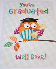 You've Graduated, Well Done Card by Eclipse cards.