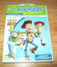 LEAP FROG LEAPSTER TOY STORY 3 PHONICS ADDITION SUBTRACTION  FOR 4-7 YR