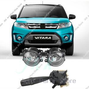 For Suzuki S-Cross / Vitara Bumper Fog Lamps & Headlight Turn Signal Switch Assy