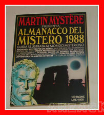 MARTIN MYSTERE Almanacco del Mistero 1988 IL PRIMO Sergio Bonelli Editore