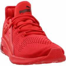 Puma Electron Street Eng Mesh Sneakers Casual    - Red - Mens