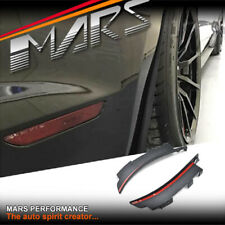 MARS Rear Bumper Bar Side Splitters Mud flaps for Ford Mustang FM 2015-2017
