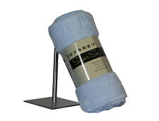 Blue Odyssey Living Plush Soft Bed Sofa Couch Throw Rug Travel Baby Cot Blanket