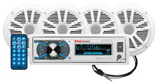 BOSS Audio Systems MCK632WB.64 Marine Stereo Package - Bluetooth, (No CD/DVD) MP