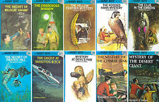 HARDY BOYS by Franklin W. Dixon MATCHING HARDCOVER Collection Set BOOKS 31-40!