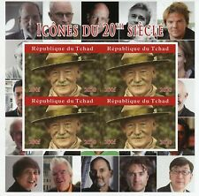More details for chad scouting stamps 2020 mnh lord baden-powell scouts famous people 4v impf m/s
