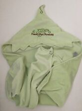 Bunnies by the Bay Baby Blanket Sweet Pea Dreams Green Hooded Super Soft Lovey