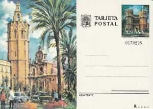 Spanje briefkaart tarjeta postal onbeschreven - Plaza de la Reina (01)
