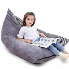 Extra Large Kids Storage Bean Bag Stuffed Animal Plush Toy Soft Pouch Sofa Chair