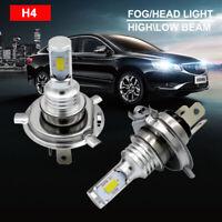 2PCS H4 9003 CSP LED Headlight Bulb Conversion Kit Bulbs 6000K White Car Lights