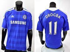 2012 Champions League Jersey adidas Chelsea FC Home Shirt DROGBA #11 SIZE XL