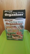Handy Trends Below the Bed Shoe Organizer - Holds 12 Pairs of Shoes