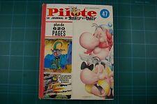 Pilote 47: le Journal D'Asterix et Obelix - Uderzo etc: HB Good RARE