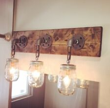 Bathroom Lighting Fixtures Charlotte Nc wood wall lighting fixtures | ebay