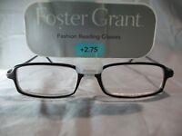 Foster Grant Reporter Brown Tortoise Reading Glasses +1.25 1.75 2.25 2.75