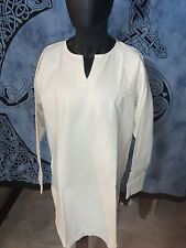 Viking Linen Tunic Shirt by Burgschneider Gmbh Size L Color Natural New No Tags
