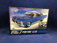 MPC 1967 Pontiac GTO 1:25 Scale Plastic Model Kit 710 New in Factory Box