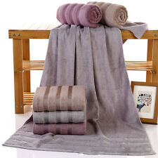 Bamboo Fiber Large Bath Towel Shower Bathroom Home Hotel Travel Towel 4 Styles