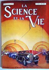 Science et vie n°203 du 5/1934; L'aviation commerciale Allemande/ Torpilles