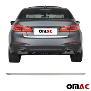 Chrome Rear Tailgate Trunk Trim S.Steel for BMW 5 Series G30 2017-2021