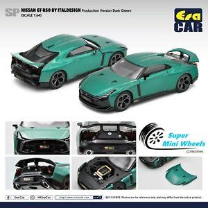 ERA Car 1:64 - Nissan GT-R50 By Italdesign (Dark Green)