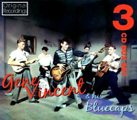 GENE VINCENT AND THE BLUECAPS  ~ NEW 3CD SET  ROCK AND ROLL / ROCKABILLY HITS.