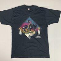 Vintage Men's Screen Starts Cherokee North Carolina T Shirt Single Stitch Sz L