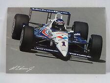 Al Unser Jr. 1990 Cart PPG Indy Car Champion Postcard Valvoline Indianapolis 500