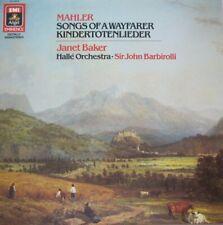 JANET BAKER - HALLE ORCHESTRA - SIR JOHN BARBIROLLI - MAHLER - LP